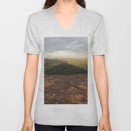 Mountain Shadow Unisex V-Neck