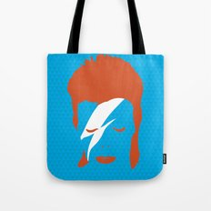 Ziggy Stardust - Blue Tote Bag
