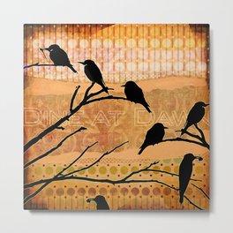 Birdies! [473] Metal Print