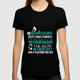 Music teacher appreciation band T-shirt