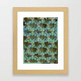 Polka Ice Fizz. Framed Art Print