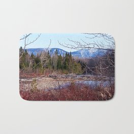 The Way to the Mountain Bath Mat