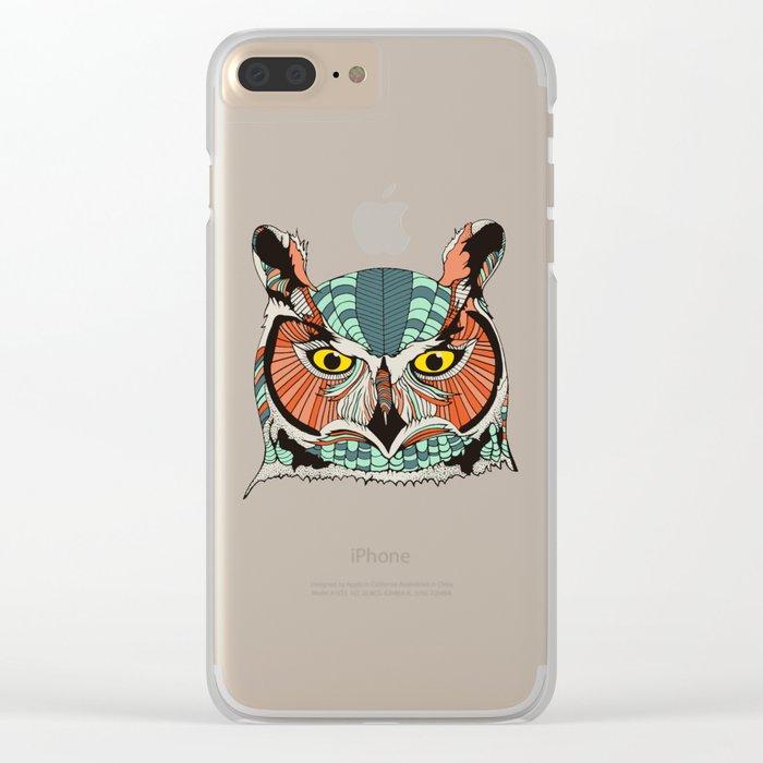 OWLBERT Clear iPhone Case