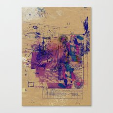 misprint 104 Canvas Print