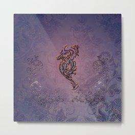Wonderful decorative chinese dragon Metal Print