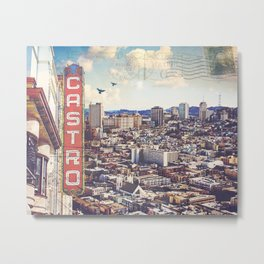 The City By The Bay Metal Print