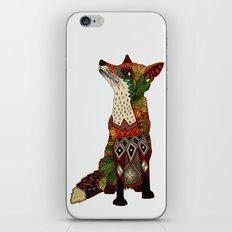 fox love off white iPhone & iPod Skin