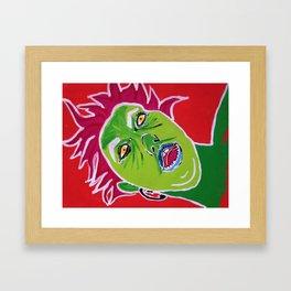 Zelf Portrait Framed Art Print