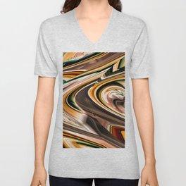 """""""Color Trails"""" Unisex V-Neck"""