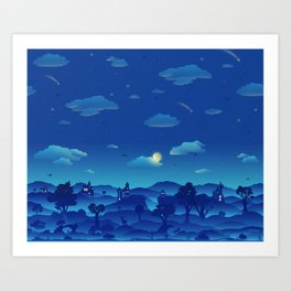 Fairytale Dreamscape Art Print
