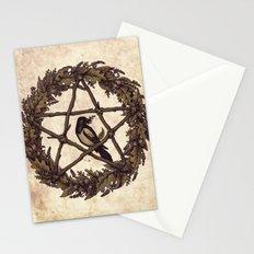 Botanical Pentacle: Wild Witch Stationery Cards