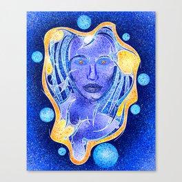 Angeonilium V4 - frozen beauty Canvas Print