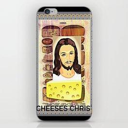 CHEESES CHRIST iPhone Skin