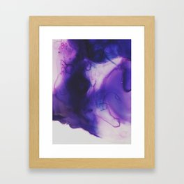 Violet Aura Framed Art Print
