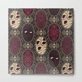 Byzantine medallions. Retro patchwork design. Metal Print