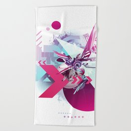 ice14 Beach Towel