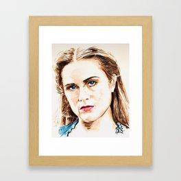 Dolores Abernathy Framed Art Print