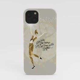 Universal dance 'Listen to the Song of the Universe, and Dance to its Rhythm' iPhone Case