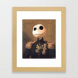 Jack Skellington General Portrait Painting | Fan Art Framed Art Print