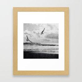 Seascape Freedom Framed Art Print