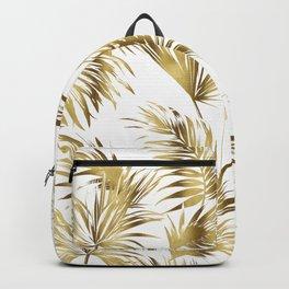 Golden palms Backpack