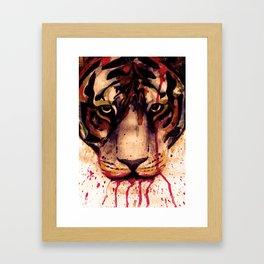 Tyger! Tyger! Burning Bright! Framed Art Print