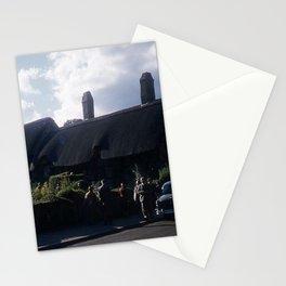 England Art Print * Vintage Photo * 1950's * Ann Hatheway * Cottage * Cars * Kodachrome Stationery Cards