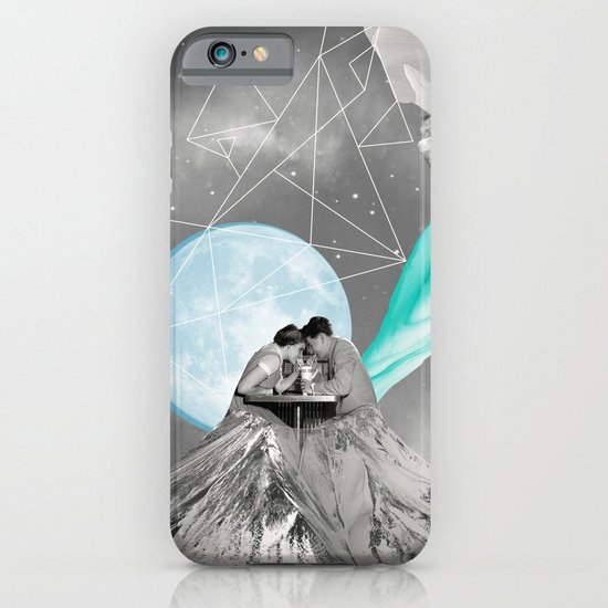 FUTURE IS BLUE iPhone & iPod Case