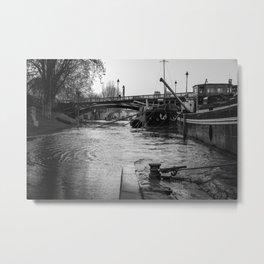 Flood in Paris Metal Print