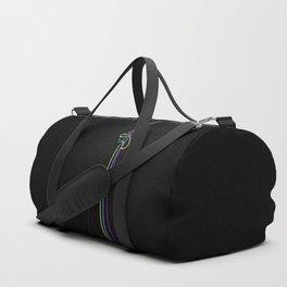 CMYK Lines Duffle Bag
