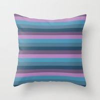 marine Throw Pillows featuring Marine by Alexandra Sas