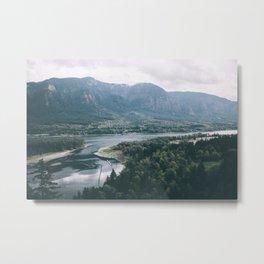 Columbia River Gorge IV Metal Print