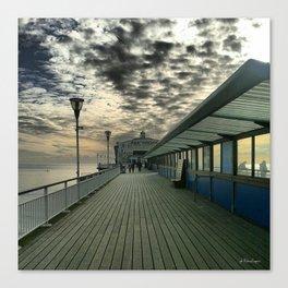 Pier Theatre, Bournemouth Canvas Print