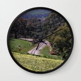 Long & winding Track Wall Clock