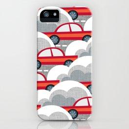 Papercut Cars iPhone Case