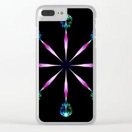 Diamond Wheel Clear iPhone Case