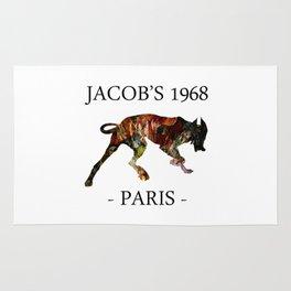 Mad Dog I Jacob's 1968 fashion Paris Rug