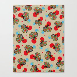 Rooster of Barcelos | Portuguese Lucky Charm Canvas Print