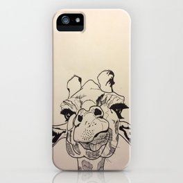 Derpy Giraffe iPhone Case