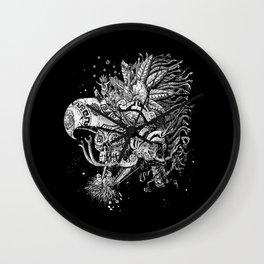 Eagle Warrior Wall Clock