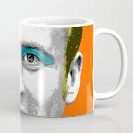 Marilyn Macron - Orange Coffee Mug