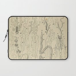 Microscopic Biology Laptop Sleeve