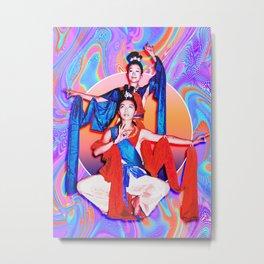 Angie & Fern 1 Metal Print
