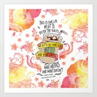 This Is Our Life (WDMR) Art Print