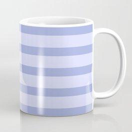 Blue Lilac Stripes Coffee Mug
