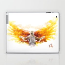 On Wings Like Eagles (Isaiah 40:31) Laptop & iPad Skin