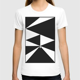 Triangles in Black and White T-shirt