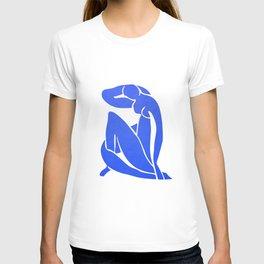 BLUE MATISSE CUT OUT T-shirt
