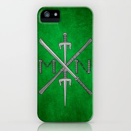 Weapons Down - TMNT iPhone Case