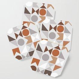 Mid Century Modern Geometric 16 Coaster
